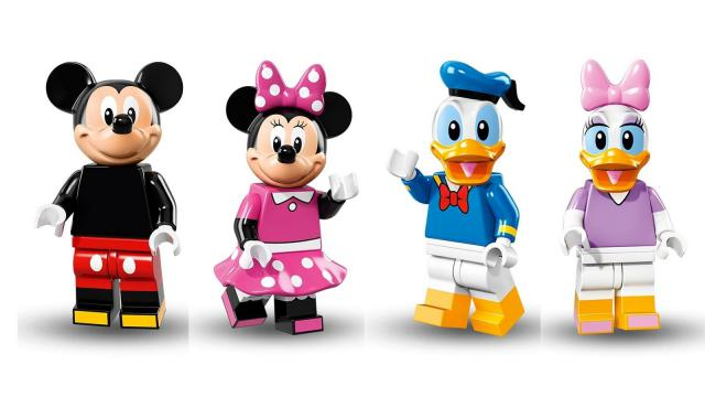 Disney Characters Shrunk Down To Lego Brick Yourself