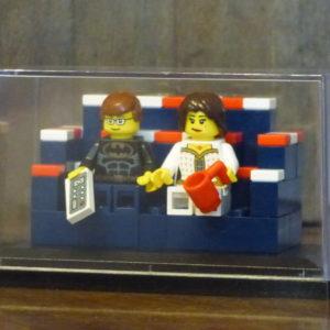 Brick Yourself Display Case